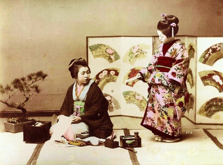 GEISHA AND MAIKO