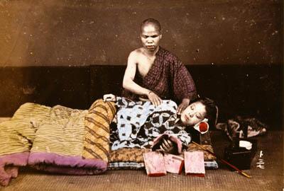 Massage c-1890_Kimbei