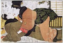 Utamaro Kitagawa_El Beso