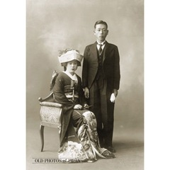 Bride and groom 1920