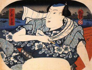 Kuniyoshi_Utagawa_Man_on_a_boat