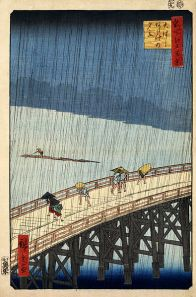 Hiroshige_Sudden_shower_over_Shin-Ohashi_bridge_and_Atake_1857